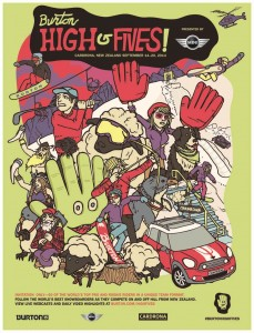 2014-Burton High Fives-Event Poster