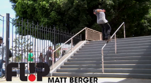 Matt-Berger-Flip-Pro-Part-debut