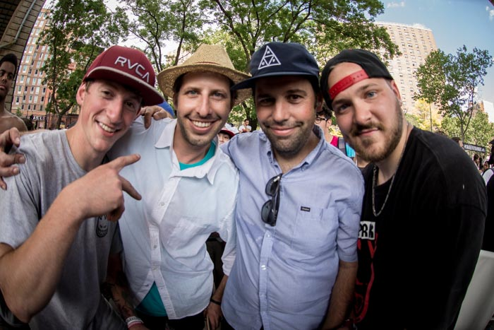 Stefan Janoski and Reda with Tony Baldelli and Daver