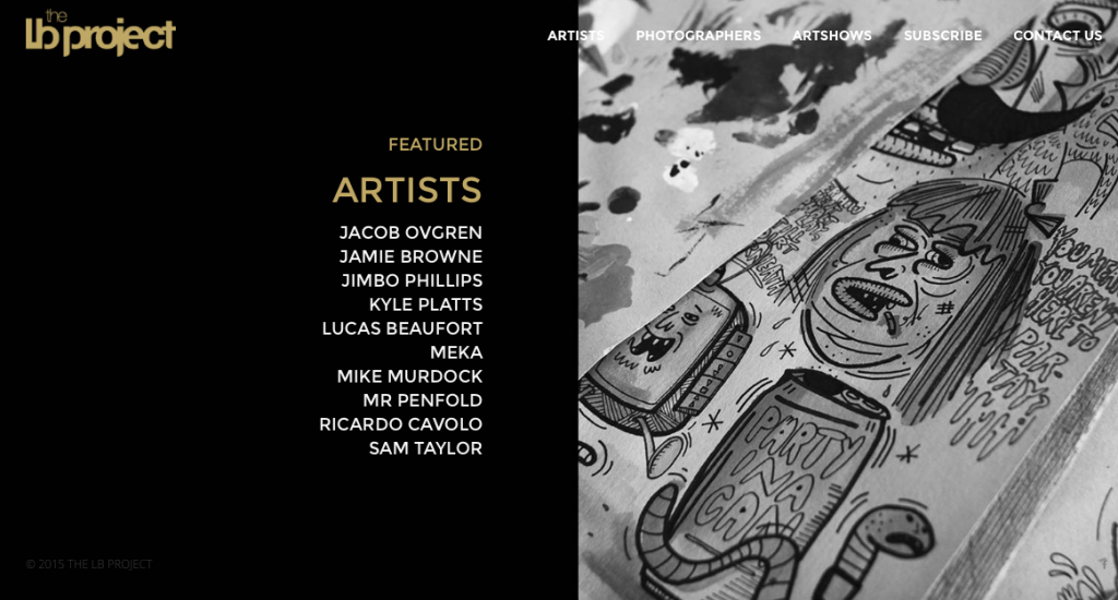Artists involved